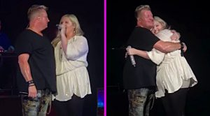 Rascal Flatts' Gary LeVox Sings 'My Wish' With Daughter Brittany At 2018 Concert