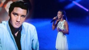 Young Girl Gives Jaw-Dropping Performance To Heavenly Elvis Ballad