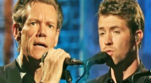 Randy Travis & Josh Turner Join Forces For 2006 Rendition Of 'On The Other Hand'