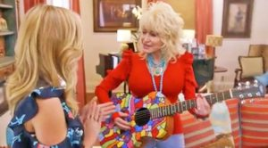 Dolly Parton Surprises Oscar-Winning Actress With 'Magical' Duet