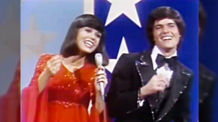 Flashback To When Donny & Marie Won Hearts With Their Most Famous Duet