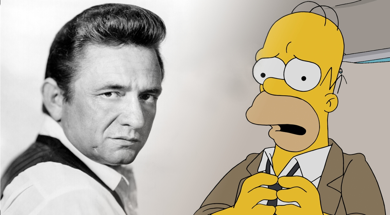 "23 Years Later, Johnny Cash's ""Simpsons"" Cameo Is Still Being Aired"
