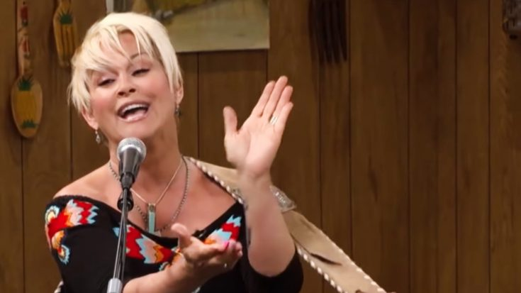 """Decades Later, Lorrie Morgan's Still Got It With Twangy """"Except For Monday"""" 