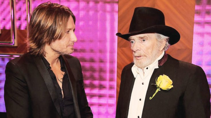 Keith Urban Just Helped Merle Haggard Do Something Many Would Think Impossible
