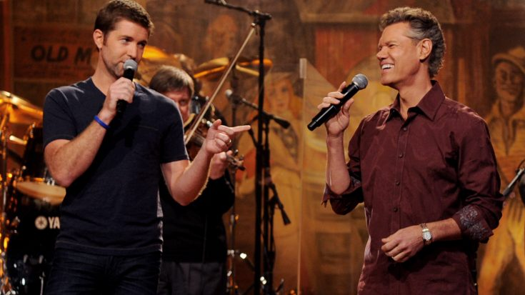 Randy Travis Josh Turner Seduce Crowd With Unmatched Duet