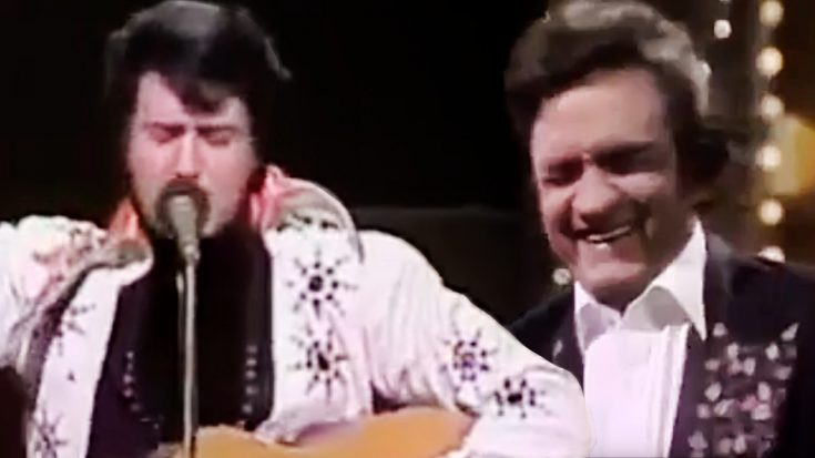 Andy Kaufman Stuns Johnny Cash With Brilliant Elvis Impression | Classic Country Music Videos