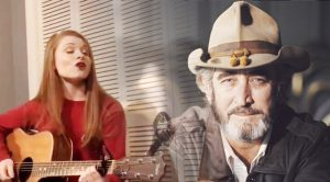 """Redheaded Singer, Bree Ogden, Honors Don Williams With Her Version Of """"Tulsa Time"""""""