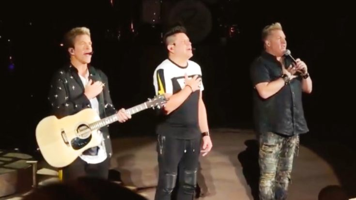 Rascal Flatts Stop Concert To Honor 9/11 Victims With Heartfelt National Anthem   Classic Country Music Videos