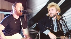 "Jesse Keith Whitley Honors Father With Slow-Burning ""Don't Close Your Eyes"""