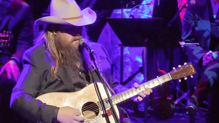 Chris Stapleton Honors Ricky Skaggs At CMHOF With 'Darkest Hour Is Just Before Dawn' | Classic Country Music Videos