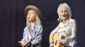 Surrender Your Heart To Dolly Parton & Her Pint-Sized Twin's Delightful Duet
