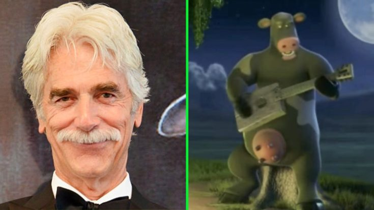 Sam Elliott Sings A Tom Petty Classic As A Cartoon Cow? Y'all Gotta See This | Classic Country Music Videos