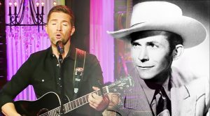 "Josh Turner Gives 2018 Live Performance Of Hank Williams' ""I Saw The Light"""