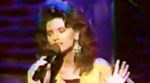 Rare: Shania Twain's 1993 Rendition Of 'Blue Eyes Cryin' In The Rain'