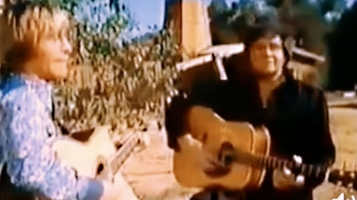 Rare Footage Shows Johnny Cash Joining John Denver For Legendary Duet | Classic Country Music Videos