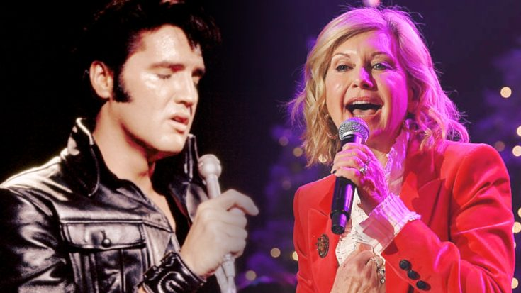 Christmas Magic Brings Elvis & Olivia Newton-John Together For Breathtaking Duet | Classic Country Music Videos