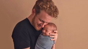 Photo Proof Ben Haggard's Baby Boy Is His Spitting Image