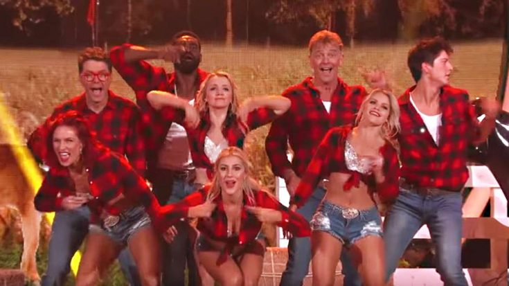 DWTS Gets Down To Dolly's '9 To 5' In Fierce Dance Number | Classic Country Music Videos