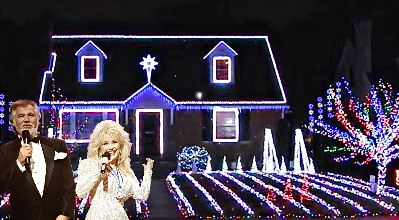 Kenny And Dolly Christmas.Dolly Parton Kenny Rogers Classic Synced To Twinkling