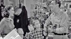 "Full Of Christmas Cheer, Andy Griffith Sings ""Away In A Manger"""