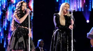 Kelly Clarkson & Chevel Shepherd Light Up Finale With Judds Duet