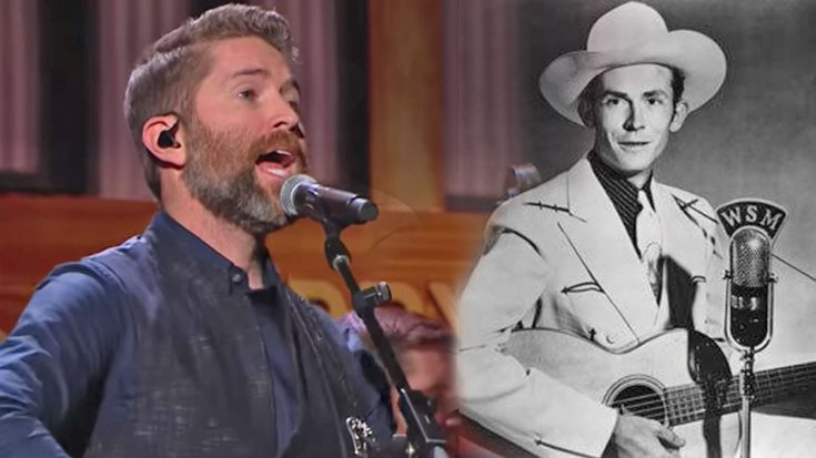 """Josh Turner Brings Out Special Opry Guest For """"I Saw The Light"""" 