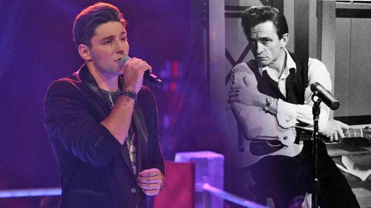 """Handsome German Teen Brings Crowd To Feet With """"Ring Of Fire""""   Classic Country Music Videos"""