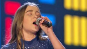 Powerful & Plentiful High Notes Define 14-Year-Old's Remarkable Reba McEntire Cover