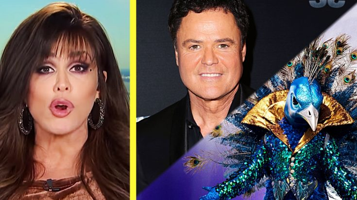"""Did Marie Osmond Confirm Donny Is On """"The Masked Singer""""?"""