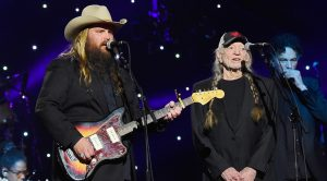 Hear Willie's Soul-Piercing Harmony With Chris Stapleton At Historic Event
