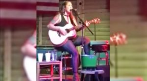 "Garth Brooks' Daughter Reveals Breathtaking Talent With ""Travelin' Soldier"""