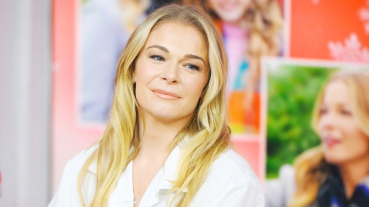 Heartbroken LeAnn Rimes Mourns Death Of Beloved Person In Her Life
