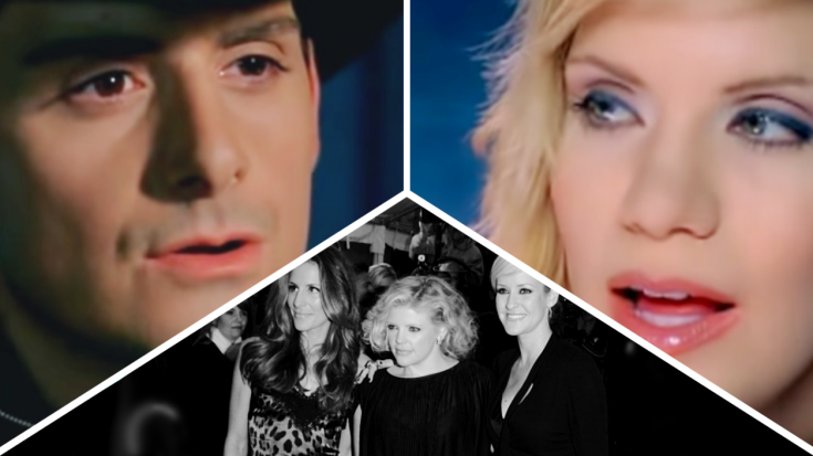 Brad Paisley & Alison Krauss' 'Whiskey Lullaby' Almost Went To The Dixie Chicks | Classic Country Music Videos