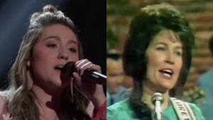 """Real Deal"" Country Singer Lands Spot On Team Blake With Twangy Loretta Lynn Cover"