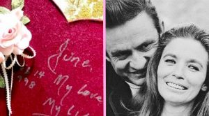 You'll Swoon Over Sweet & Simple Valentine Johnny Gave June In 1998