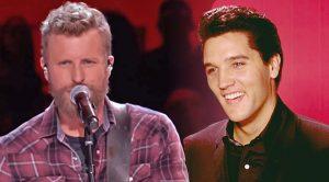 Dierks Bentley Channels Elvis Presley For 'Little Sister' Performance