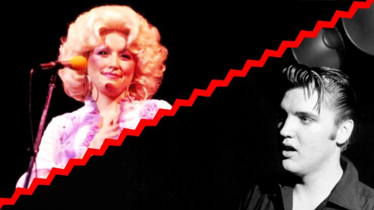 """Elvis Wanted To Record """"I Will Always Love You,"""" But Dolly Turned Him Down 