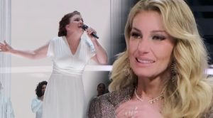 Faith Hill Burts Into Tears Watching Previously Tone-Deaf Woman's Unbelievable Performance