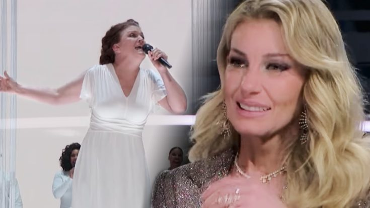 Faith Hill Bursts Into Tears Watching Previously Tone-Deaf Woman's Unbelievable Performance