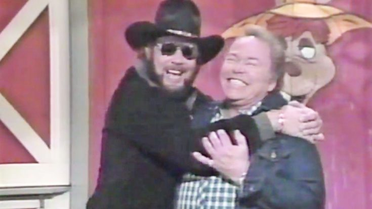 "A Look Back At Some Of Hank Williams Jr.'s Funniest ""Hee Haw"" Moments 