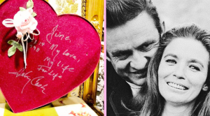 Johnny Cash Museum Shares Valentine He Gave June In 1998