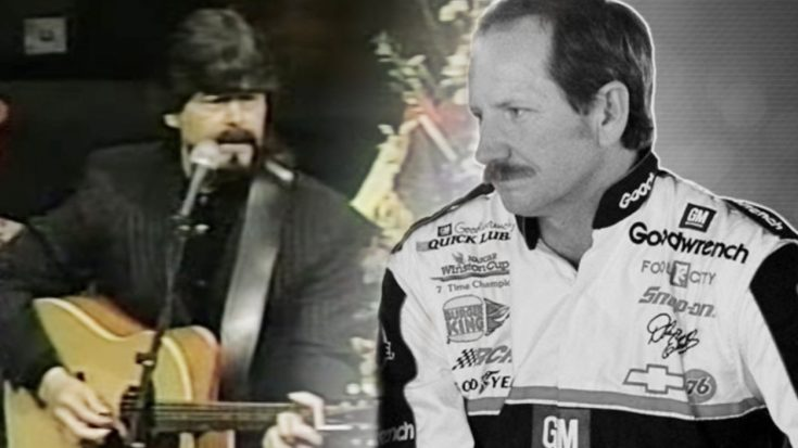 "Alabama's Randy Owen Performs ""Goodbye"" At Dale Earnhardt's Funeral 