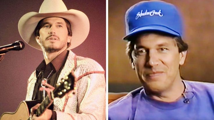 """A Young George Strait Reveals 1st Reaction To """"Pure Country"""" Script 