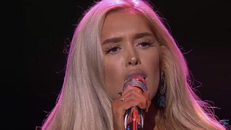 "Country 'Idol' Hopeful Survives Brutal Elimination After Soulful ""Georgia On My Mind"" Cover 