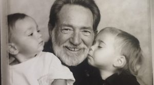 Willie Nelson's Son Shares Decades-Old Family Photo With His Dad