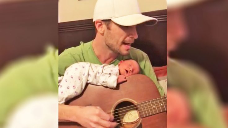 Dad Sings Tom Petty Classic While Newborn Sleeps On Guitar | Classic Country Music Videos