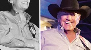 George Strait Hardly Looks Like Himself In Epic Throwback Photo
