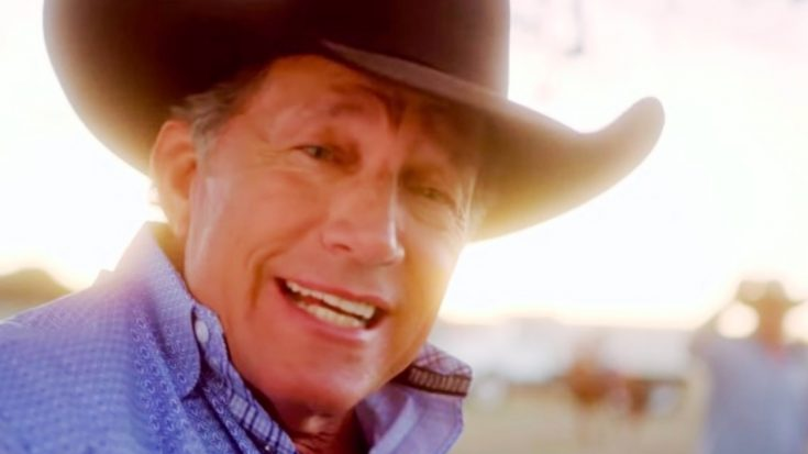 """George Strait Sings About His Favorite Tequila In Music Video For """"Código"""" 