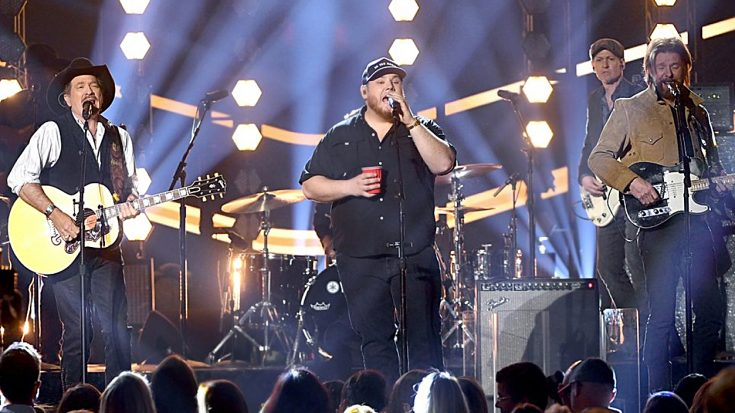 Luke Combs Joins Brooks & Dunn For High-Energy 'Brand New Man' At ACMs | Classic Country Music Videos