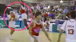 Flashback To 1989: Kenny Rogers Fakes Out Michael Jordan On The Court